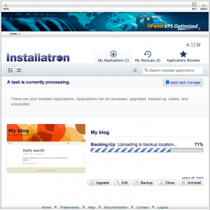 Installing Software With Installatron6