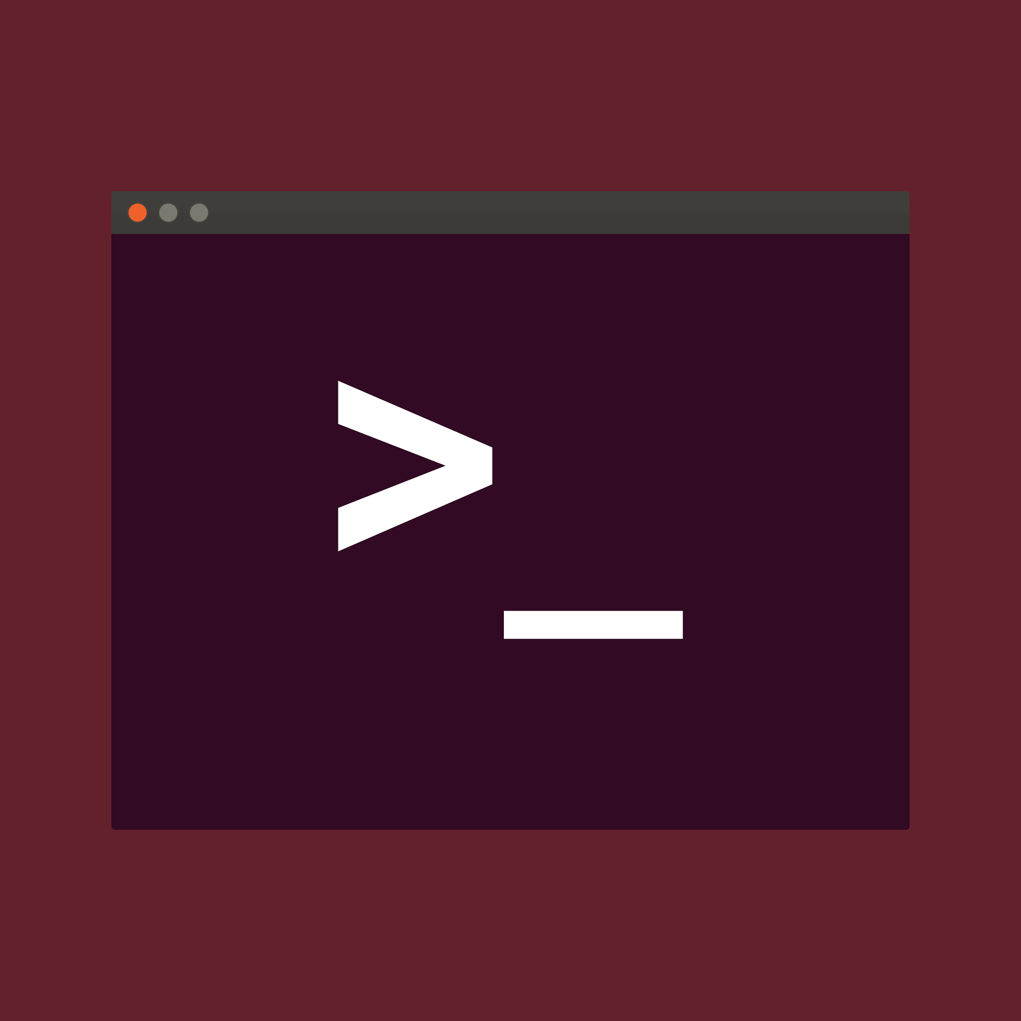 Terminal startup icon, direct access to system via command line