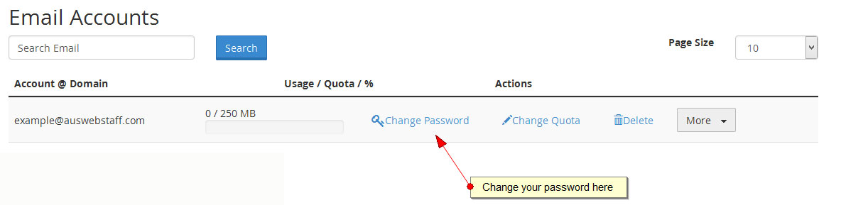 how to change email passwords in quickbooks 2016
